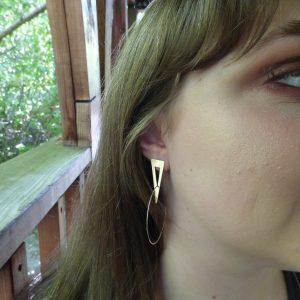 Arrowslit Earrings